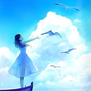 午后:心情像天空一样蓝